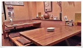 テーブル席@炭火焼鳥 玉ちゃん