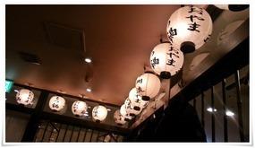 提灯のオブジェ@もつ鍋おおやま 博多駅店
