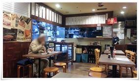 店内の様子2@立ち食い飲みそば屋 雅隆製麺