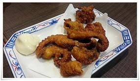 たこ唐揚げ@立ち食い飲みそば屋 雅隆製麺