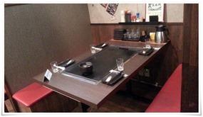テーブル席@お好み焼・鉄板焼 五衛門