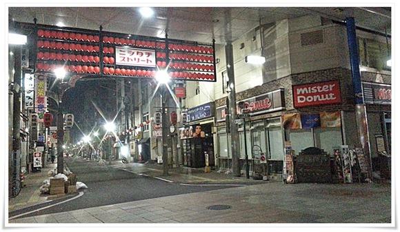 ニシタチ(西橘通)朝の風景