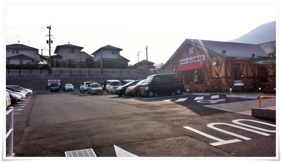駐車場@星乃珈琲店 北九州桃園公園前店