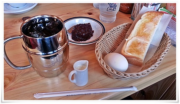 たっぷりアイスコーヒーetc@星乃珈琲店