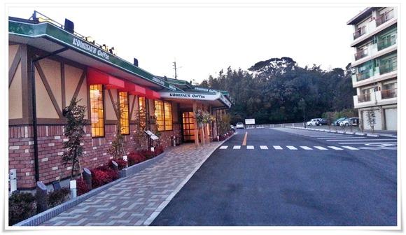 店舗前の駐車場@コメダ珈琲店 北九州上津役店