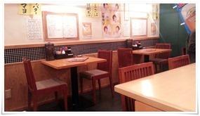 テーブル席@博多三昧 まるとく食堂