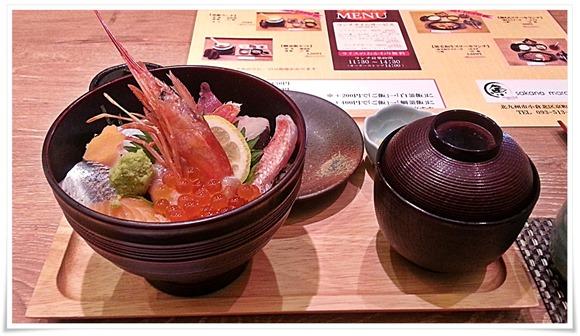 海鮮丼@魚マルシェ2号店