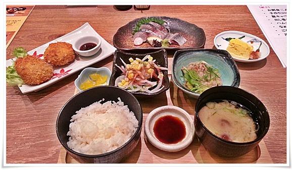 日替わりランチ全景@魚マルシェ2号店
