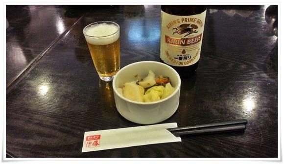 ビールで乾杯@とんかつ浜勝 北九州到津店