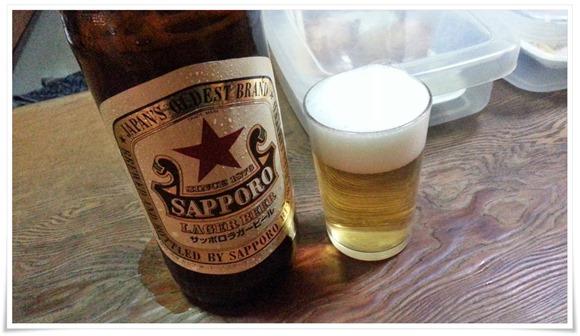 サッポロラガー赤星で乾杯@いのくち酒店
