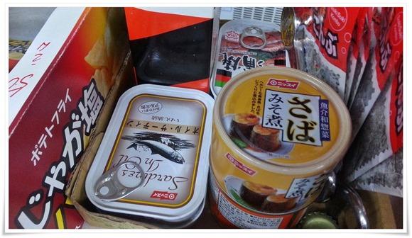 缶詰も完備@武藤酒店