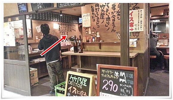 元立ち呑みスペース@焼とり居酒屋 竹乃屋