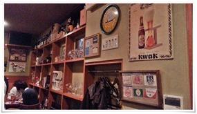 店内奥のボトル@PUBLIC HOUSE BRAVO!