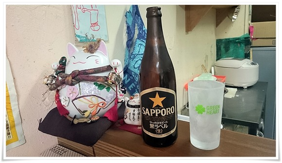 サッポロビール最高@ラーメン天晴(あっぱれ)