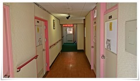 2階の廊下@別府ゲストハウス