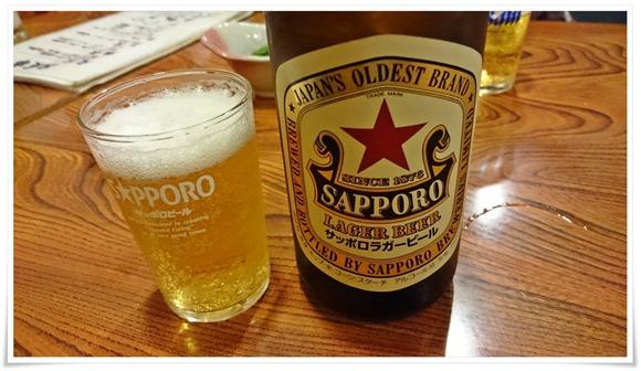 サッポロラガー赤星@喰わんか屋 中央町店