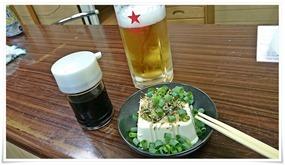 生ビールで乾杯@井形酒店