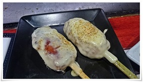 チーズつくね@鉄板焼鶏いしちゃん