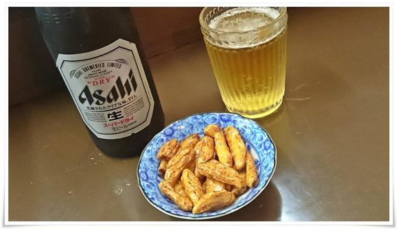 ビールで乾杯@たこ焼 百(モモ)