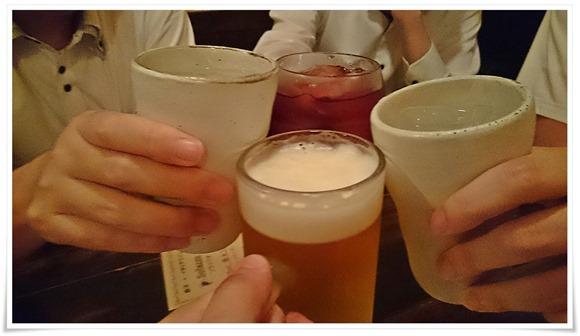 生ビールで乾杯@餃子屋 東天紅 黒崎