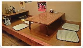テーブル席完備@お食事処たまき