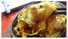 チーズチャポリタンアップ@鉄板焼鶏 いしちゃん