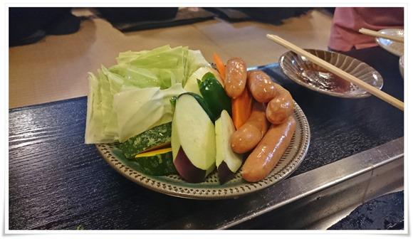 野菜盛り@溶岩焼肉料理 新生