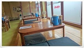 板間のテーブル席@井手ちゃんぽん佐世保白岳店