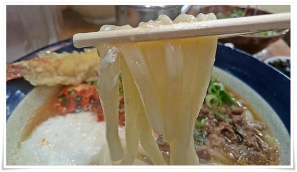 特徴あるもちもちの麺@釜揚げ牧のうどん