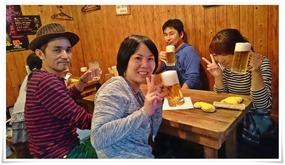 テーブル席@焼き鳥 亮平(りょうへい)