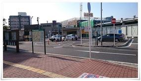 折尾駅東口から@宮原酒店