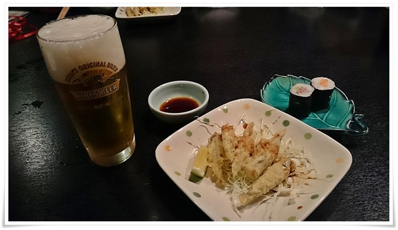 きびなご天ぷら@魚料理 福助
