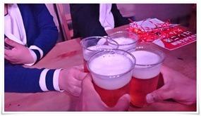 生ビールで乾杯@JUKE BOX