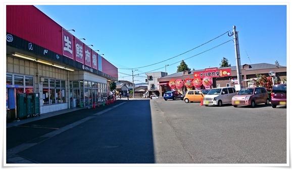 駐車場はいっぱい@とり安食堂 大畠店