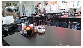 テーブル席@とり安食堂 大畠店