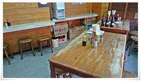 テーブル席@敏ちゃん食堂