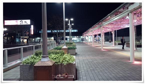 閑散とした大晦日の黒崎駅
