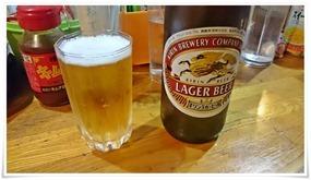 瓶ビールはキリン&アサヒ@立ち飲み処おふくろ