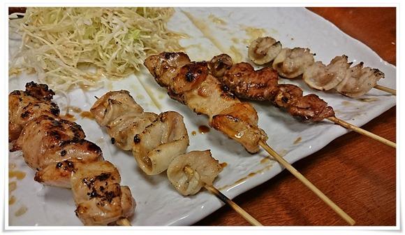 串物の数々@くし処 とり健(とりけん)