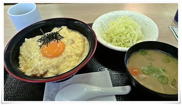 たまご丼セット登場@かつや北九州上の原店