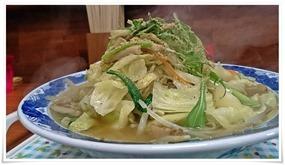 大盛チャンポン+野菜盛り@チャンポン屋しげみ