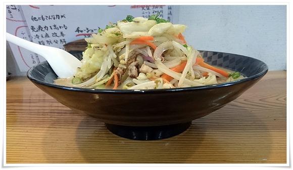 野菜大盛生ちゃんぽん@てるのちゃんぽん亭