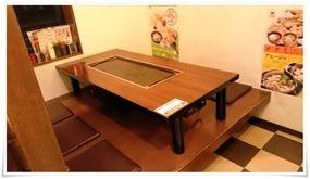 テーブル席其の弐@どんどん亭 陣山店