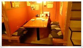 個室風テーブル席@やきとり道場住吉店