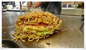 麺でサンドウィッチ@鉄板焼鶏いしちゃん