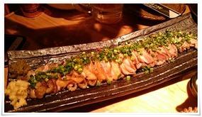 鶏のタタキ@うどん居酒屋 満月