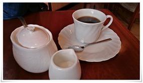 食後のコーヒー@レストラン ポワーブル
