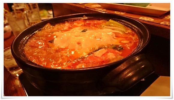 トマトチーズ鍋@隠れ家ダイニングTOMMY