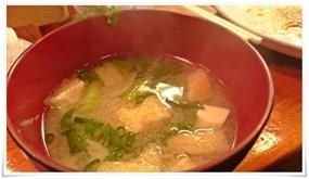 お味噌汁@活魚料理 鳥勝(とりかつ)