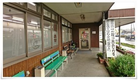 店舗入口付近@丸幸ラーメンセンター